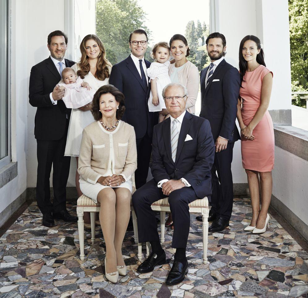 Foto: La familia real sueca posa unida para felicitar el año nuevo (Gtres)