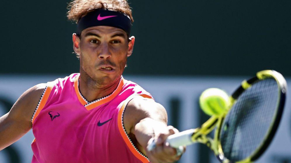 Foto: Rafa Nadal ha ganado tres veces el torneo de Indian Wells, la última en 2013. (USA TODAY Sports)