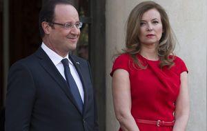 La pareja de Hollande, ingresada con depresión tras el 'caso Gayet'