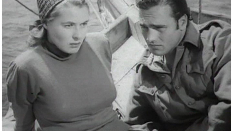 Fotograma de la película 'Stromboli'. (RKO Radio)