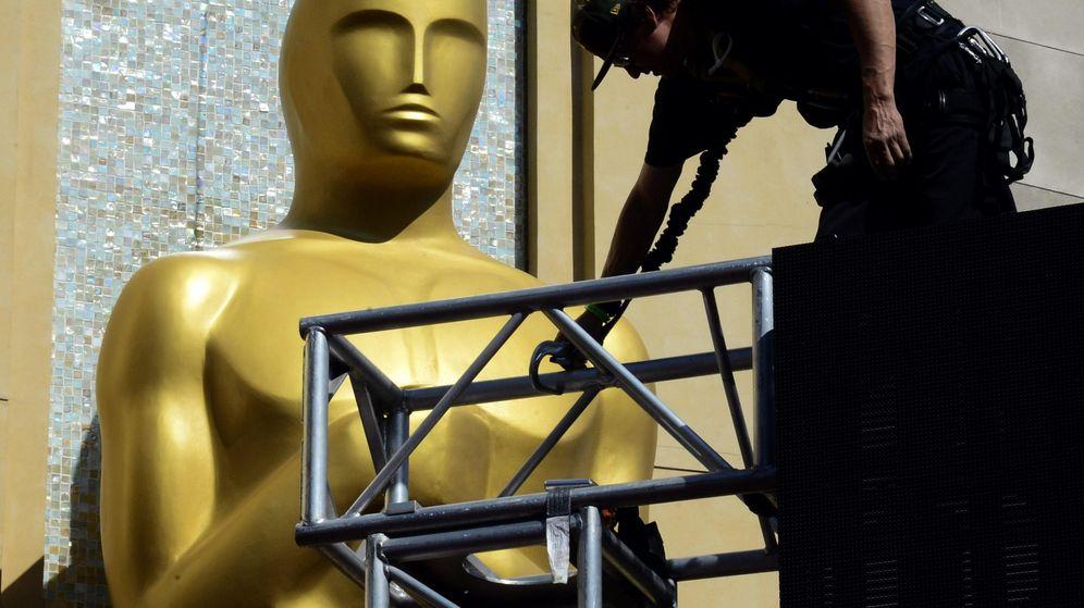 Foto: Imagen de archivo de los preparativos previos a los Oscar (EFE)