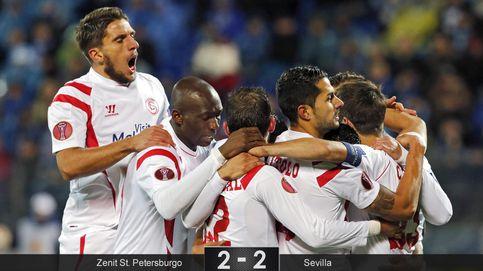 El Sevilla aprende a sufrir como nunca para soñar como siempre