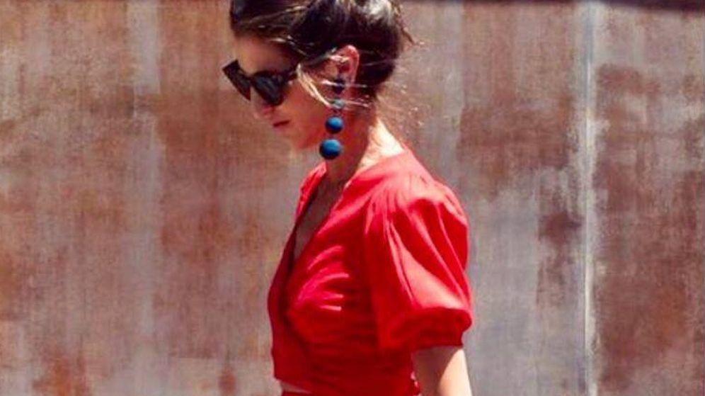 Foto: Inés Domecq con el look de Coosy diseñado por ella misma. (Cortesía)