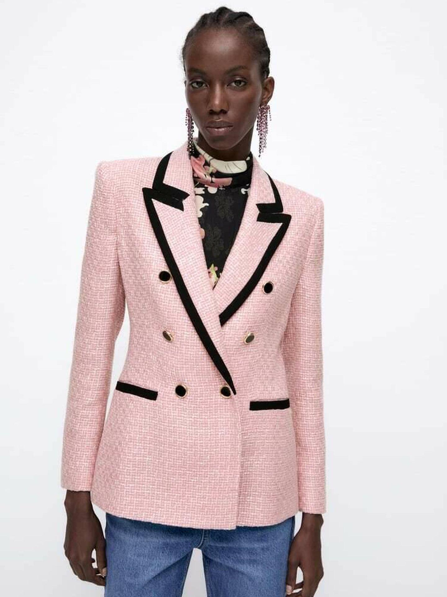 Americana de Zara. (Cortesía)