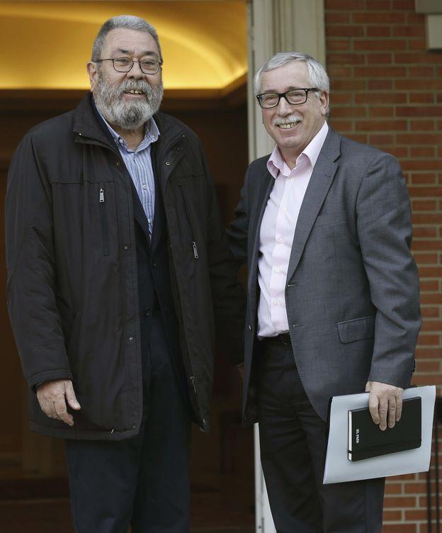 Foto: Los secretarios generales de UGT y CCOO, Cándido Méndez e Ignacio Fernández Toxo. (EFE)