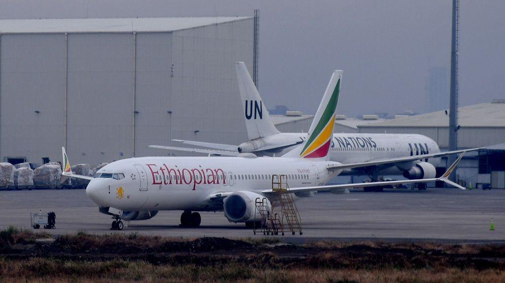 Foto: Un Boeing 737 Max 8 de Ethiopian Airlines, como el que se estrelló el pasado 10 de marzo