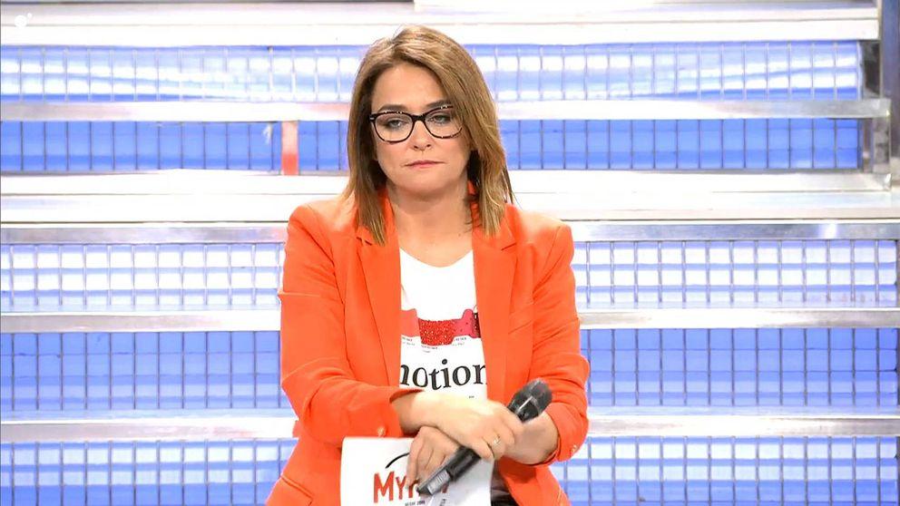 La extraña reflexión de Toñi a pocos días de finalizar su contrato con Mediaset