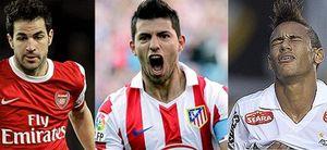 Foto: Cesc, Agüero, Neymar...Real Madrid y Barcelona llevan su rivalidad a los fichajes