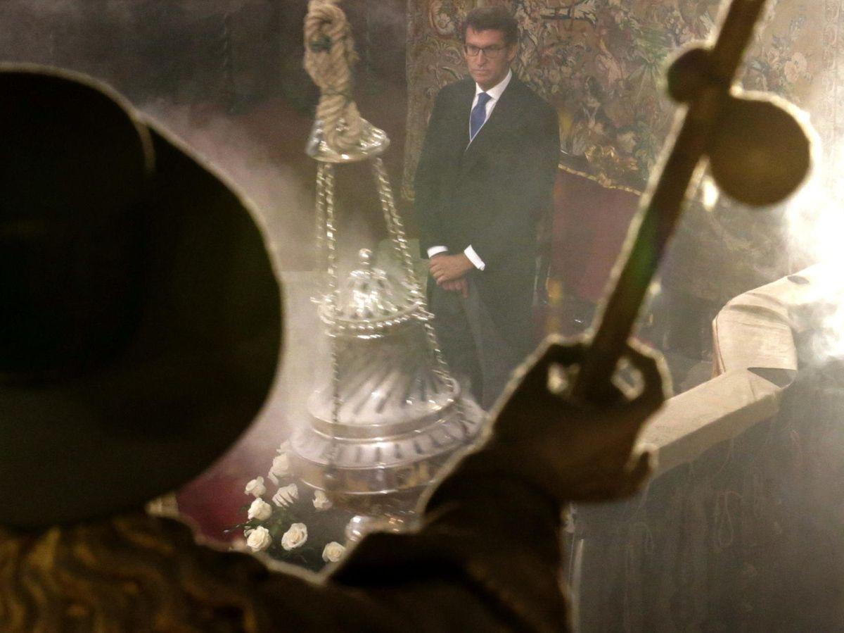 Foto: El presidente de Galicia en la celebración del día en honor a Santiago Apóstol (EFE)