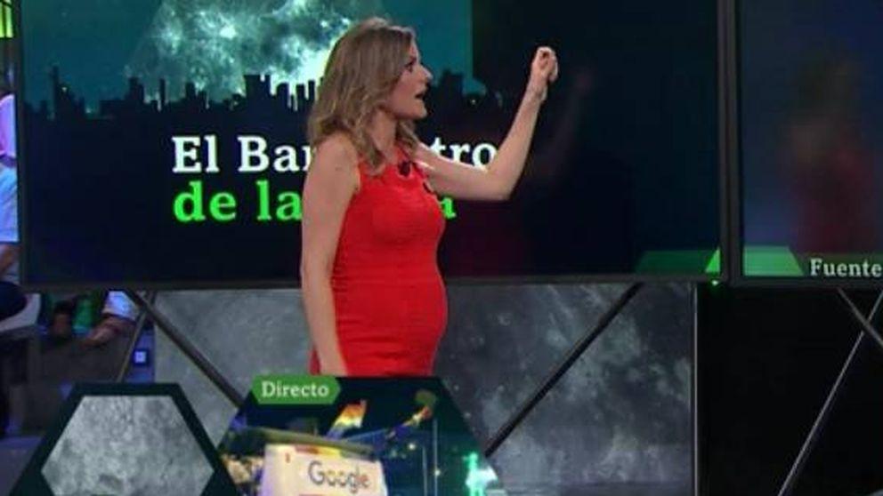 El bebé de 'laSexta noche': Andrea Ropero luce tripita de embarazada