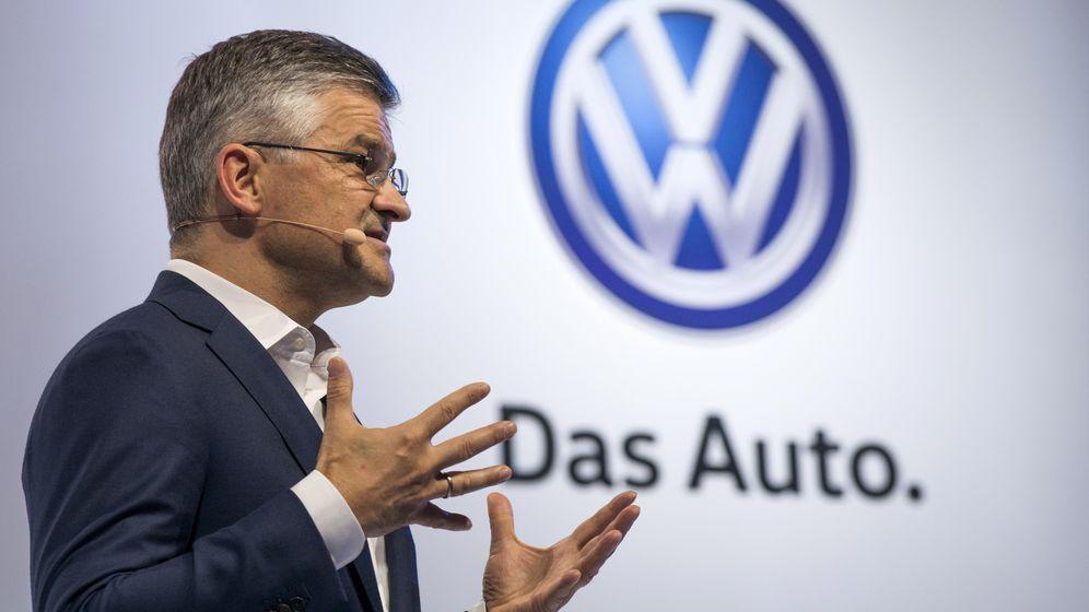 Foto: Michael Horn, presidente y consejero delegado de Volkswagen Group en EEUU. (Reuters)