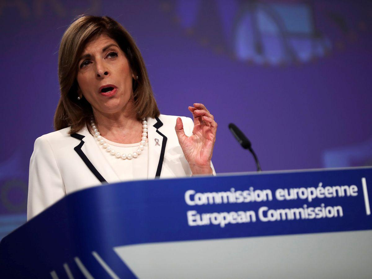 Foto: La comisaria de Sanidad de la UE, Stella Kyriakides. (Reuters)
