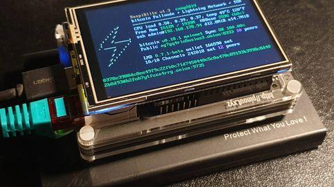 He montado un nodo de bitcoin en casa y ahora tengo un banco en una Raspberry