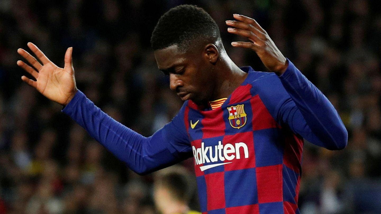 Ousmane Dembélé ha vuelto a lesionarse. (Reuters)