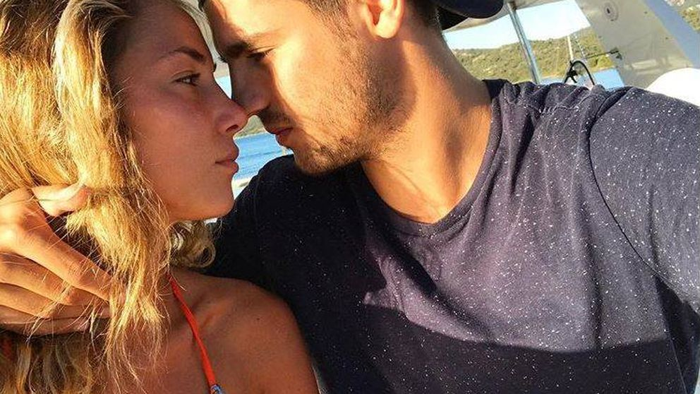 Álvaro Morata y Alice Campello ya son  padres de gemelos