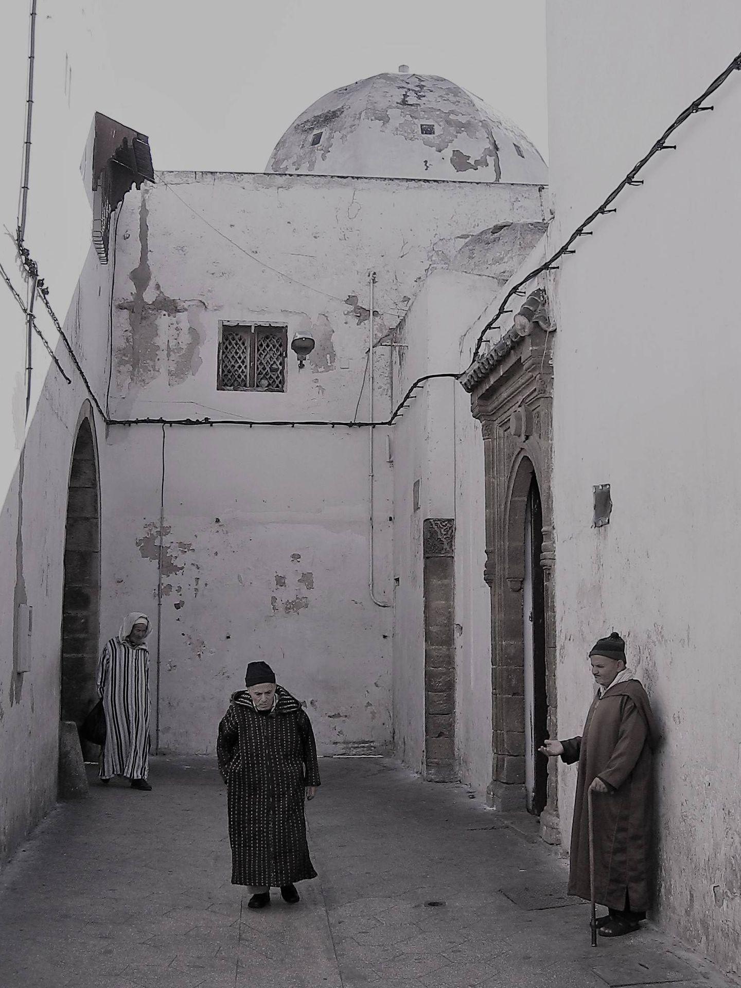 Los franceses, para ganarse a la población local, construyeron un barrio de arquitectura típica árabe en Casablanca, el Habous. (MGR)