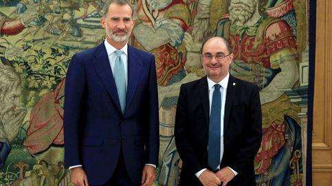 Javier Lambán, ante su momento más duro: de futbolista intelectual a gobernar Aragón