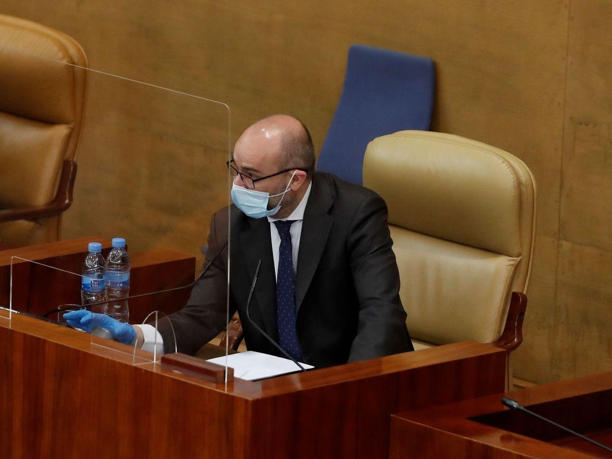 Foto: El expresidente de la Cámara regional de Madrid Juan Trinidad. (EFE)
