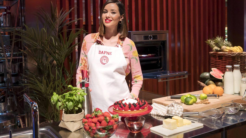 Dafne Fernández, en 'MasterChef Celebrity'. (TVE)