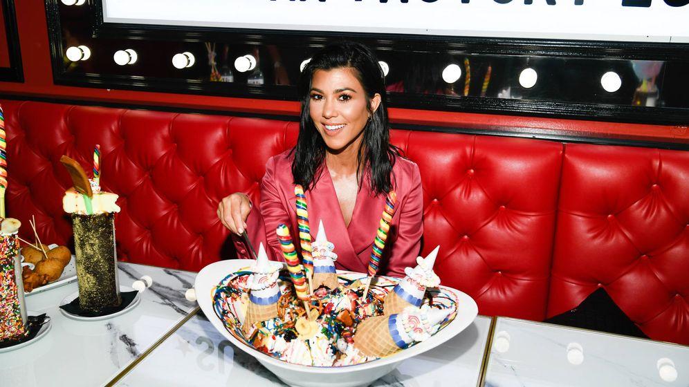 Foto: Kourtney Kardashian en una imagen de archivo. (Getty)