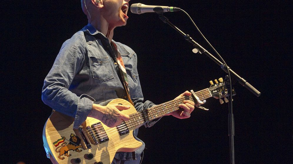 Foto: Concierto de Sinéad O'Connor en Zaragoza. (EFE)