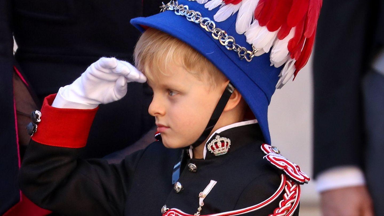 Jacques, con uniforme militar en las celebraciones del Día Nacional. (EFE)