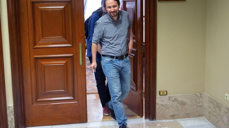 Foto: Pablo Iglesias el pasado viernes en el Congreso. (EFE)