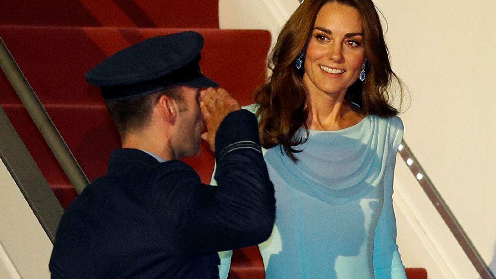 Foto: Kate Middleton, en Islamabad. (Reuters)