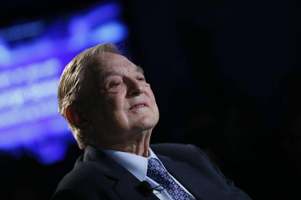 Foto: El inversor George Soros, durante el Foro Económico Mundial, en Davos. (Reuters)