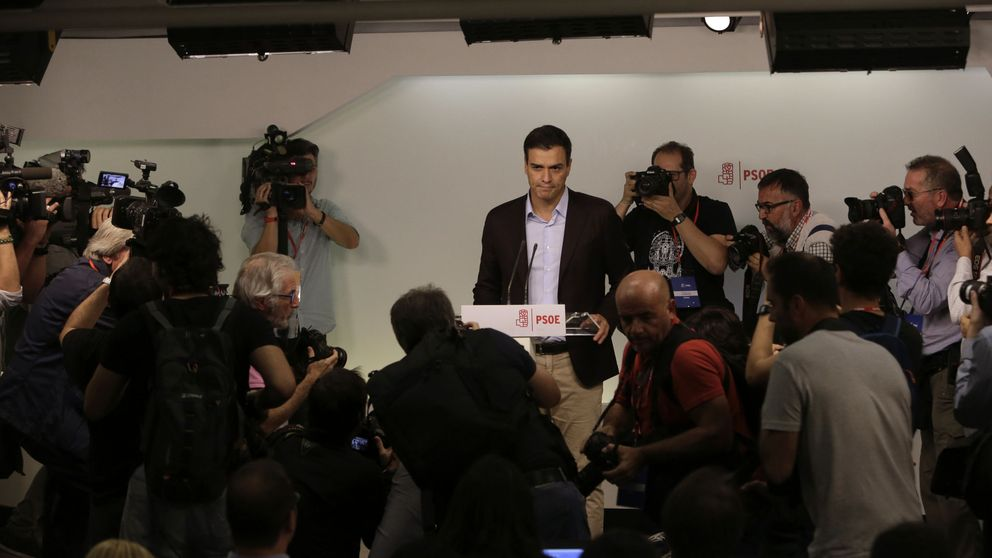 Pedro Sánchez: Ha sido un orgullo, presento mi dimisión