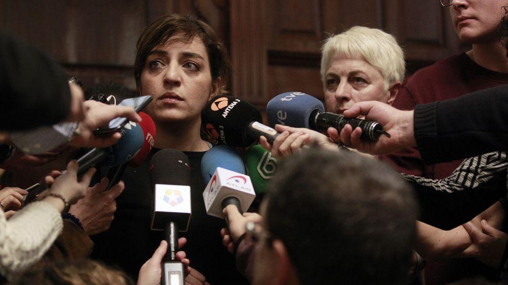 Foto: La delegada de Cultura del Ayuntamiento de Madrid, Celia Mayer, durante su última intervención pública el pasado sábado. (EFE)