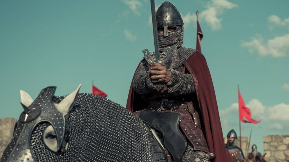 Foto: Imagen de 'El Cid', en la serie 'El Ministerio de el Tiempo'. (RTVE)