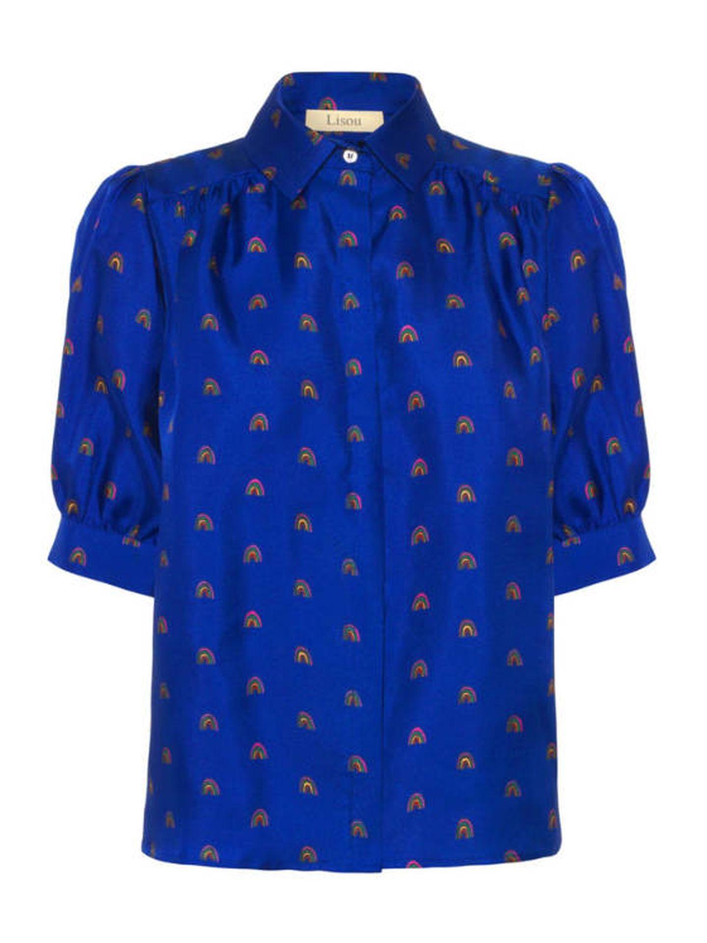 La nueva camisa de Kate Middleton. (Cortesía)