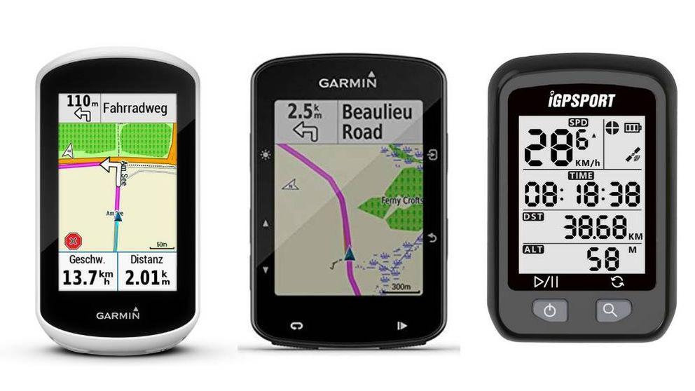 Los mejores ciclocomputadores GPS para ciclistas principiantes y expertos
