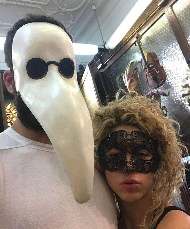 Foto:  Shakira y Piqué en una imagen de su Instagram.