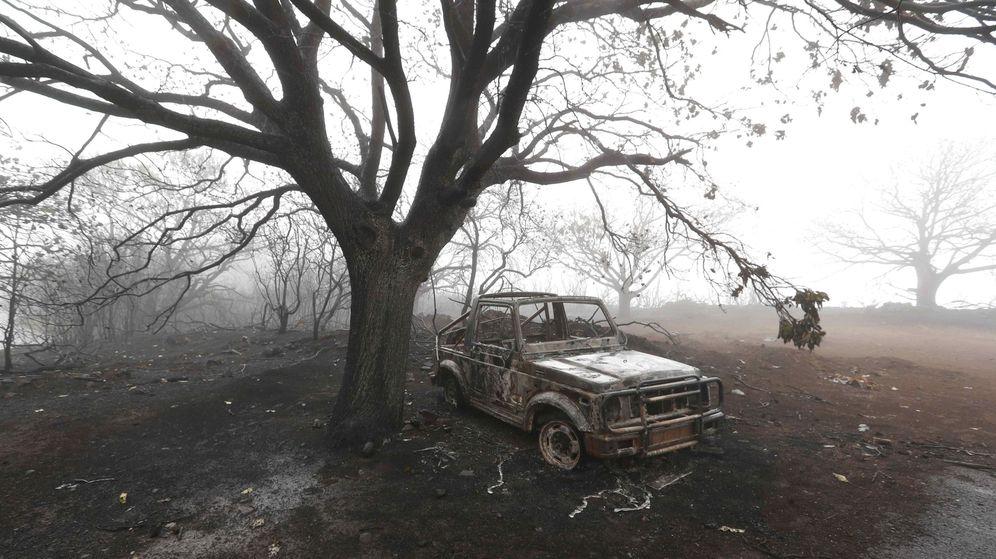 Foto: Incendio en tejeda (gran canaria)
