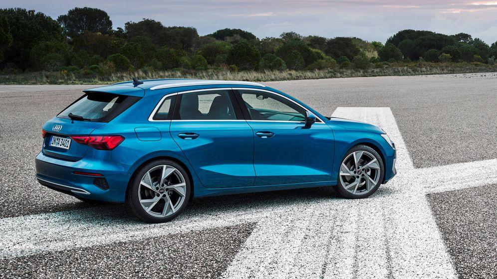 Foto: Estética muy dinámica en el nuevo Audi A3 Sportback para poder competir con BMW y Mercedes.
