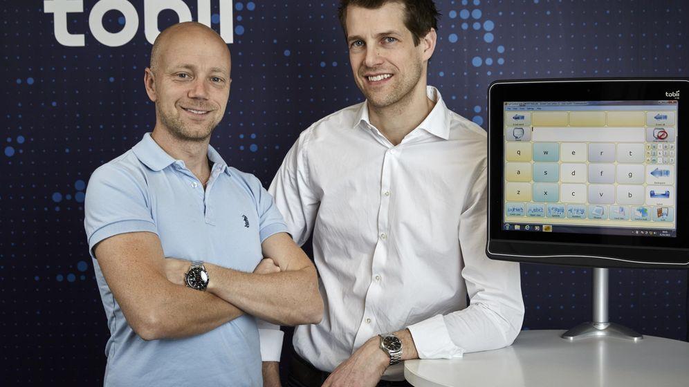 Foto: John Elvesjö y Marten Skögo, nominados al Premio Inventor Europeo 2015