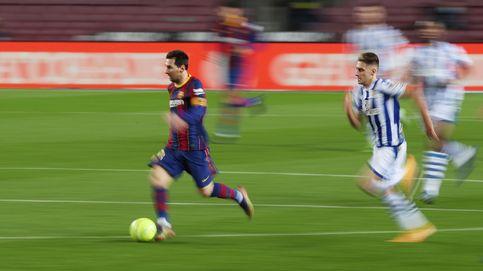 El Barça frena su caída imponiéndose en el Camp Nou al líder de la liga (2-1)