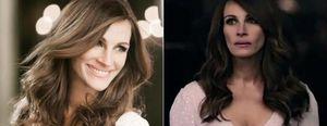 La firma Lancome muestra el rostro más artificial de la actriz Julia Roberts