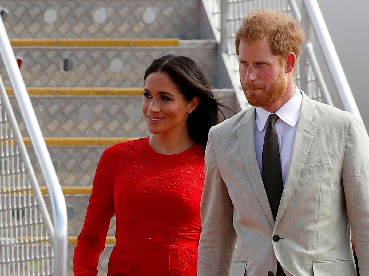 Foto: Harry y Meghan, en una imagen de archivo. (Reuters)