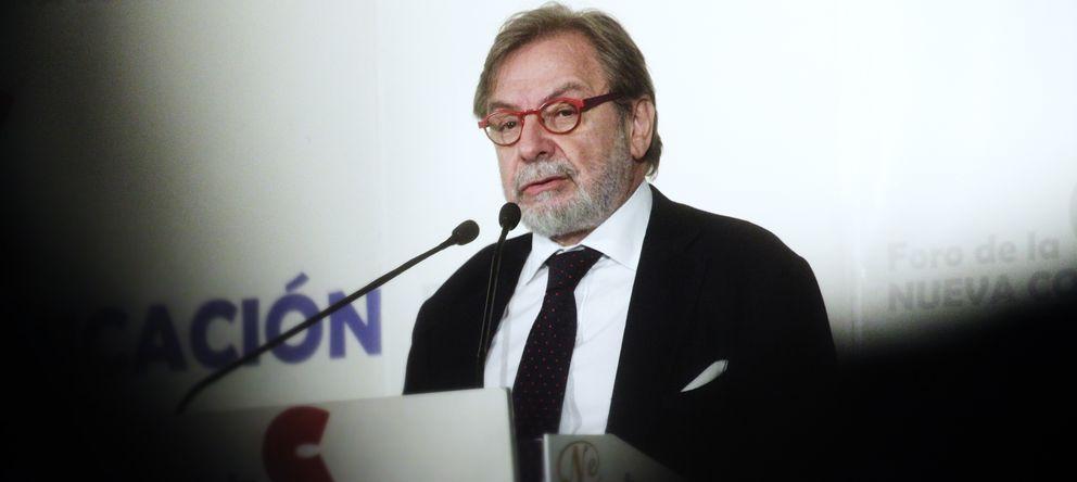 Foto: El presidente ejecutivo del Grupo Prisa, Juan Luis Cebrián. (E. Villarino)