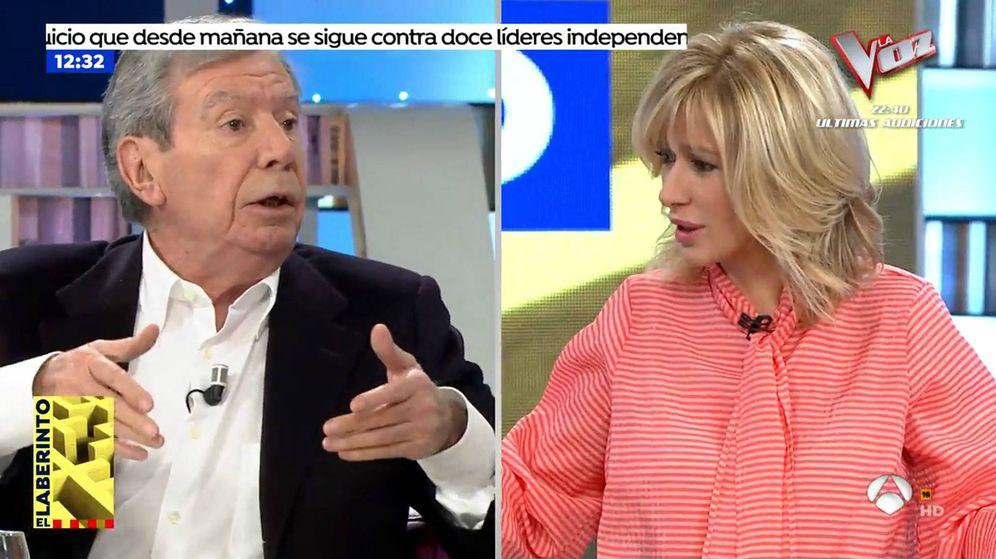 Foto: Corcuera y Susanna Griso. (Atresmedia Televisión)