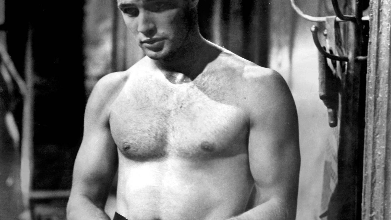 Brando en 'Un tranvía llamado deseo'. (Cordon Press)