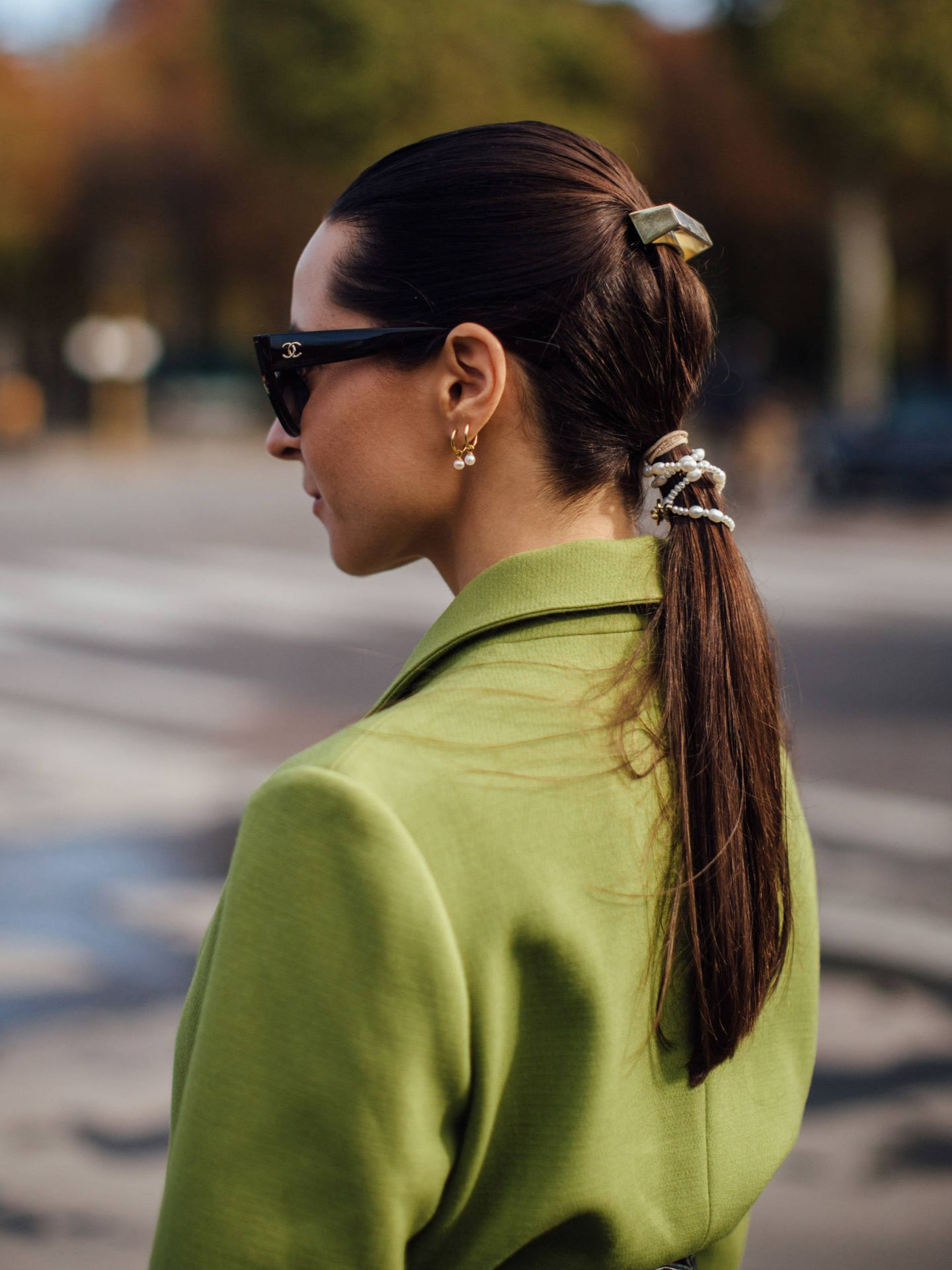 Ponytail a dos alturas. (Imaxtree)