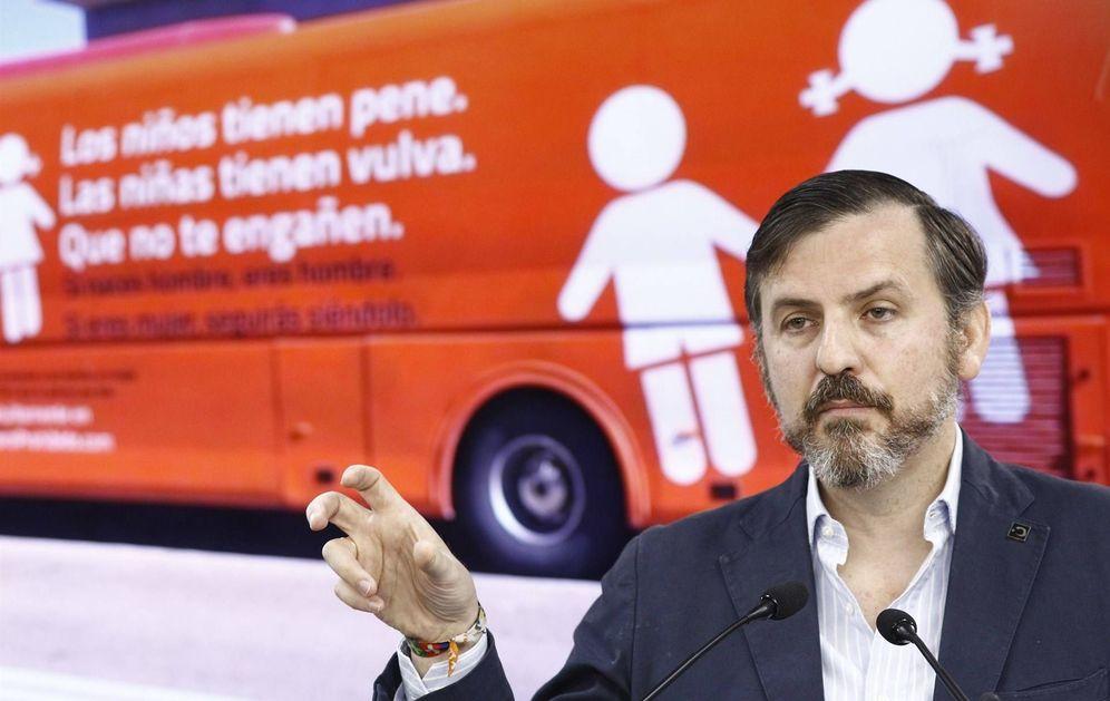 Foto: El presidente de Hazte Oír, Ignacio Arsuaga
