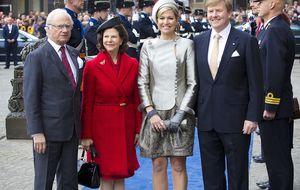 Máxima y Guillermo, anfitriones de los Reyes de Suecia