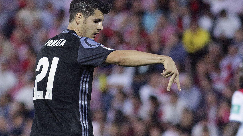 Foto: Álvaro Morata celebra un gol marcado esta temporada. (EFE)