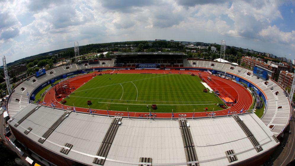 Foto: Vista panorámica del Estadio Olímpico de Ámsterdam, sede del Campeonato de Europa de Atletismo (Michael Kooren/Reuters)