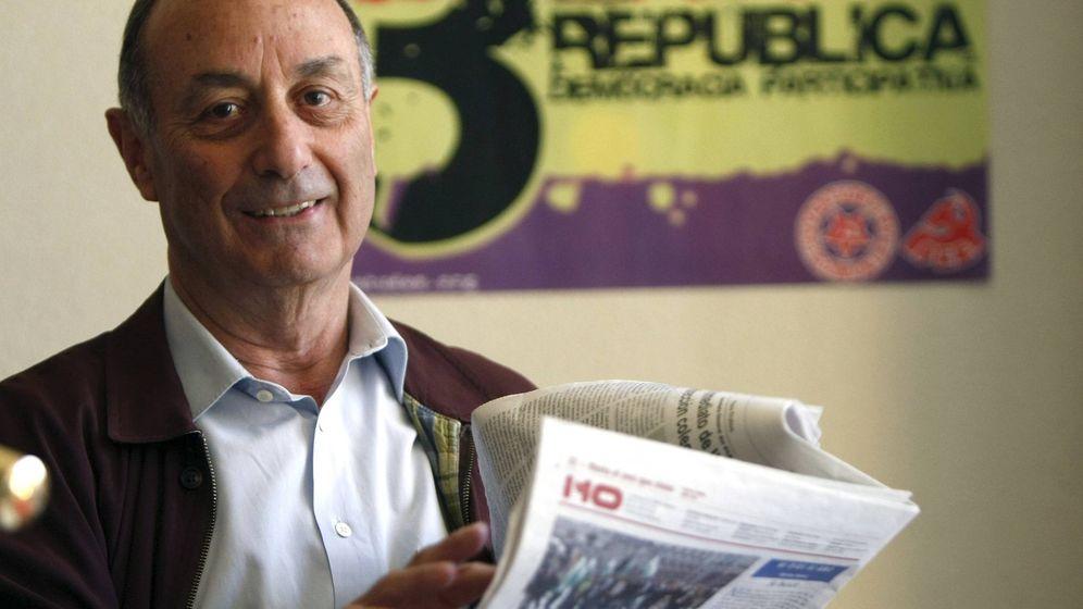 Foto: El exdirigente del PCE, Francisco Frutos. (EFE)